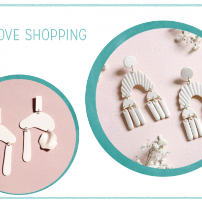 we love Inspiration: Handgemachte Ohrringe aus Polymerton | we love handmade