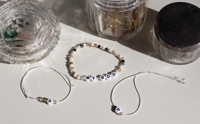 DIY: Perlenarmband selber machen | we love handmade