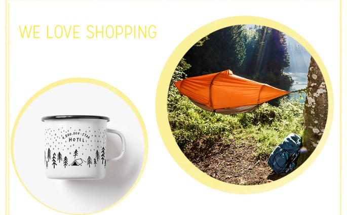 we love shopping: Camping   we love handmade