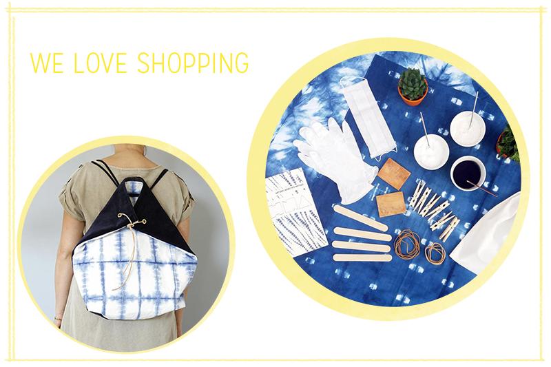 we love Shopping: Shibori-Accessoires | we love handmade