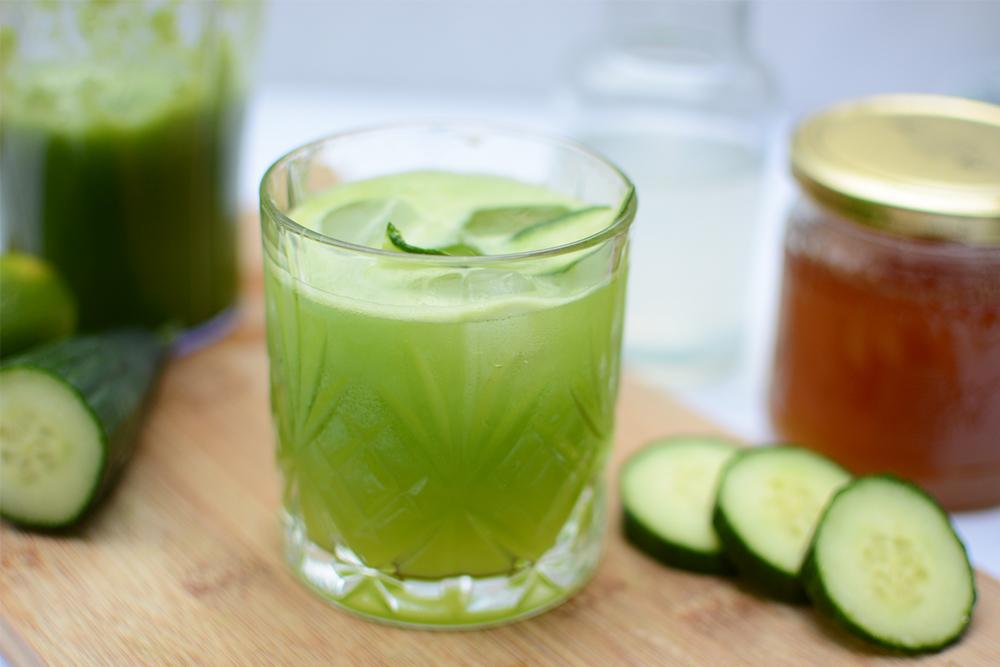 Gurken-Ingwer-Mocktail: Drink   we love handmade