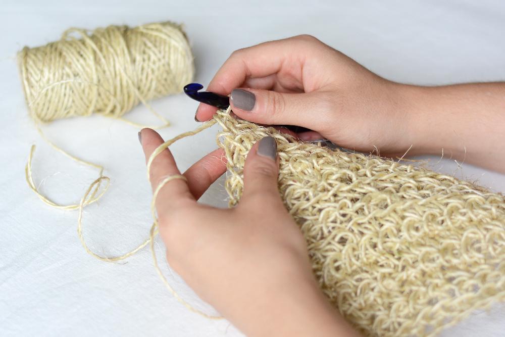 Seifensackerl DIY häkeln | we love handmade
