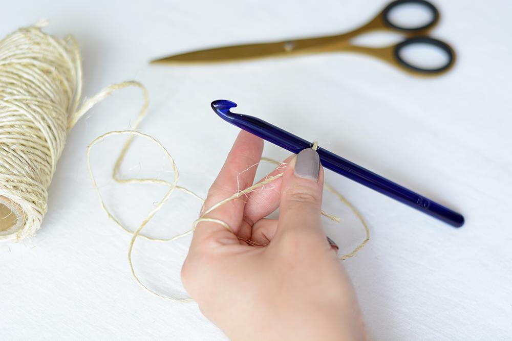 Seifensackerl häkeln: Material | we love handmade