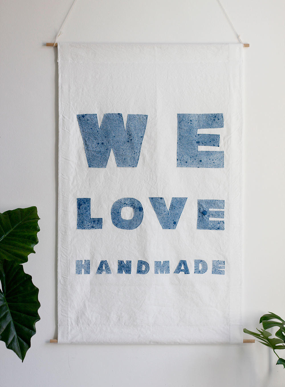 DIY: Stoffbanner selber nähen | we love handmade