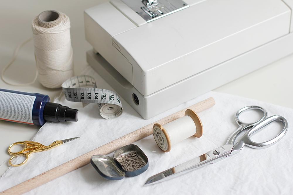 Material für dieses DIY - Stoffbanner | we love handmade