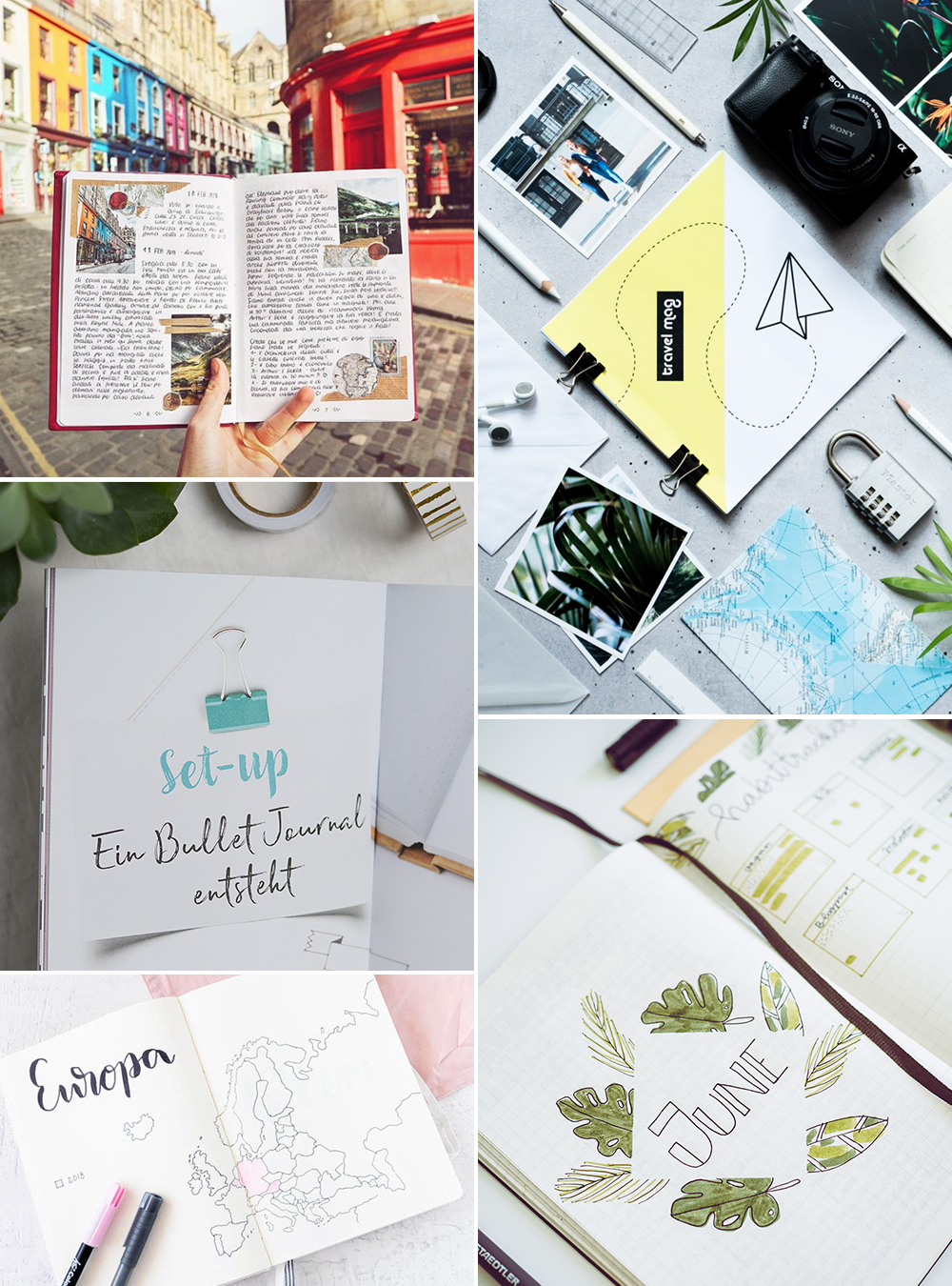 we love Inspiration: Reisetagebuch verfassen | we love handmade
