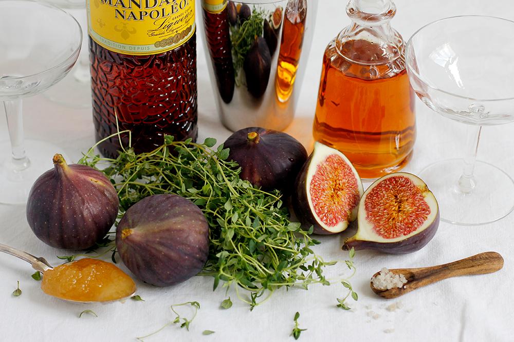 Drink: Zutaten für Feigen-Thymian-Cocktail | we love handmade