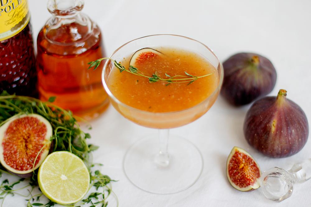 Drink: Feigen-Thymian-Cocktail | we love handmade