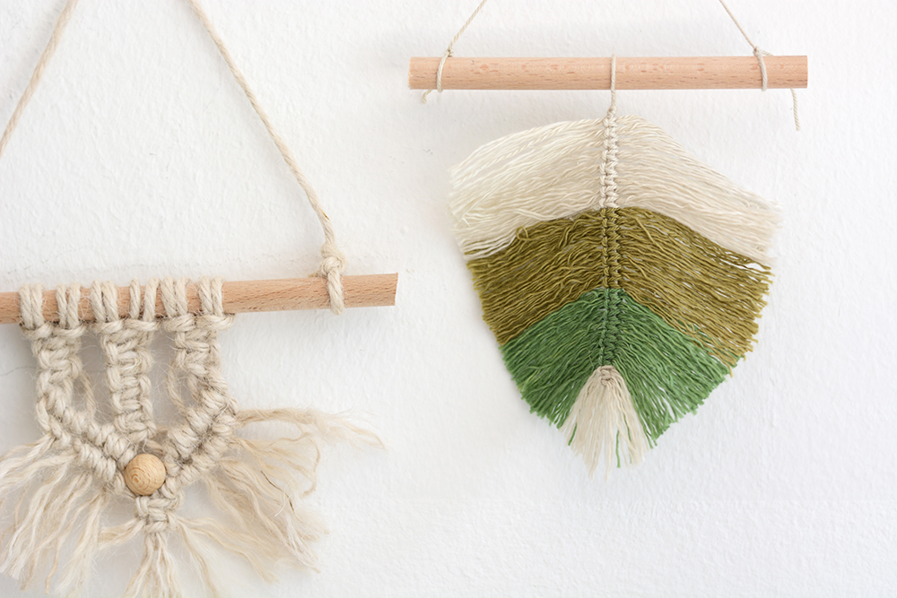 Makramee-DIY: Wandbehang | we love handmade