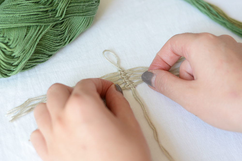 Makramee-Feder: DIY-Tutorial | we love handmade