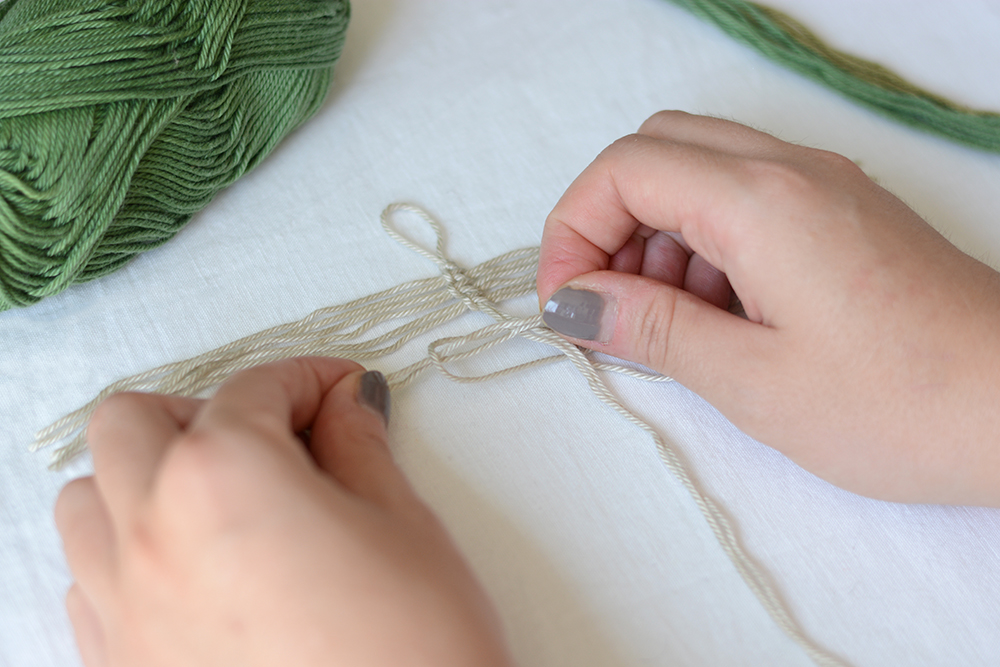 Makramee-Feder: Knoten DIY | we love handmade