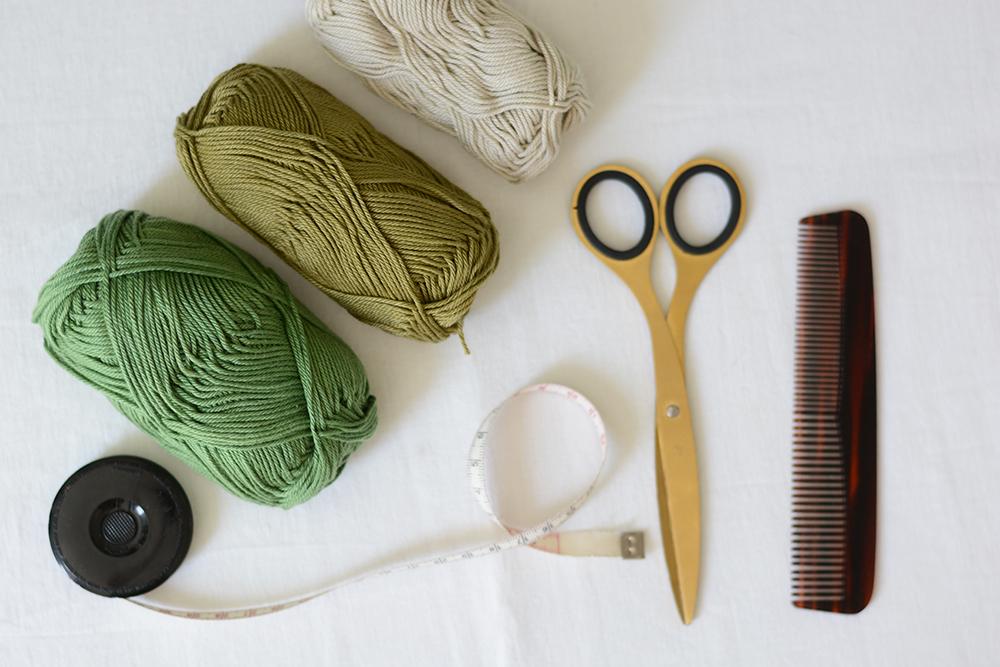 Makramee-Feder: Material | we love handmade