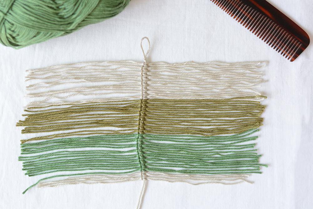 Makramee-Feder selber machen | we love handmade