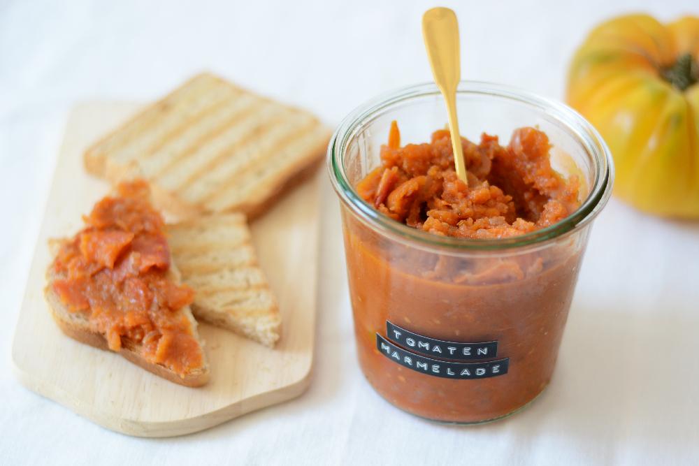 Rezept: Tomaten-Marmelade   we love handmade