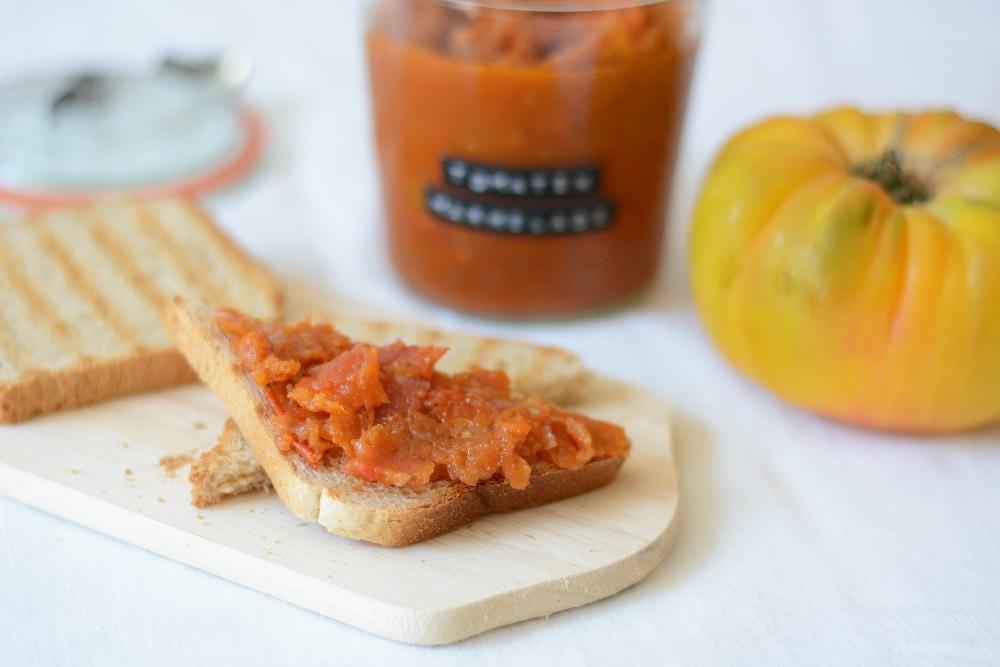 Rezept: Tomatenmarmelade Aufstrich   we love handmade