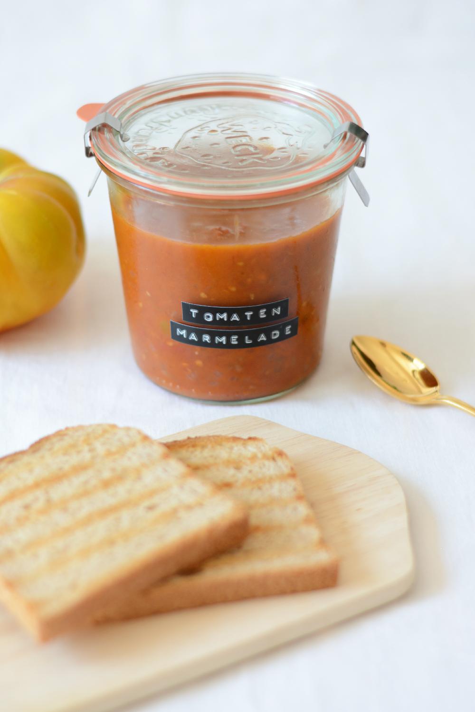 Rezept: Tomatenmarmelade selbermachen   we love handmade