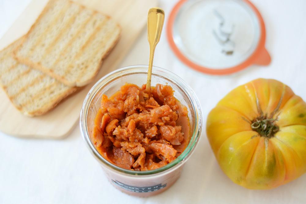 Rezept: selbstgemachte Tomatenmarmelade   we love handmade