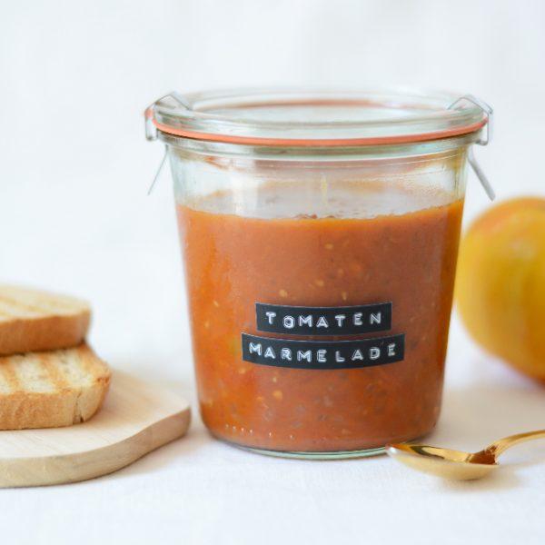 Tomatenmarmelade selber machen | we love handmade