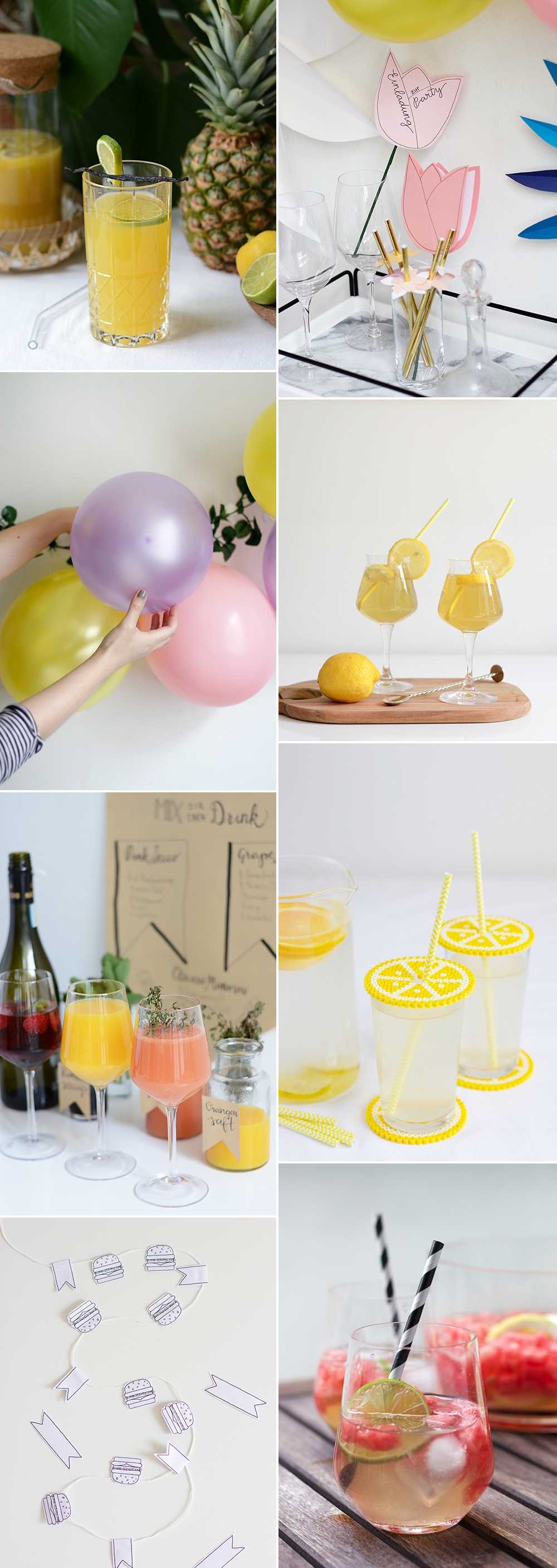 we love Inspiration: Unsere liebsten Grillparty DIYs | we love handmade