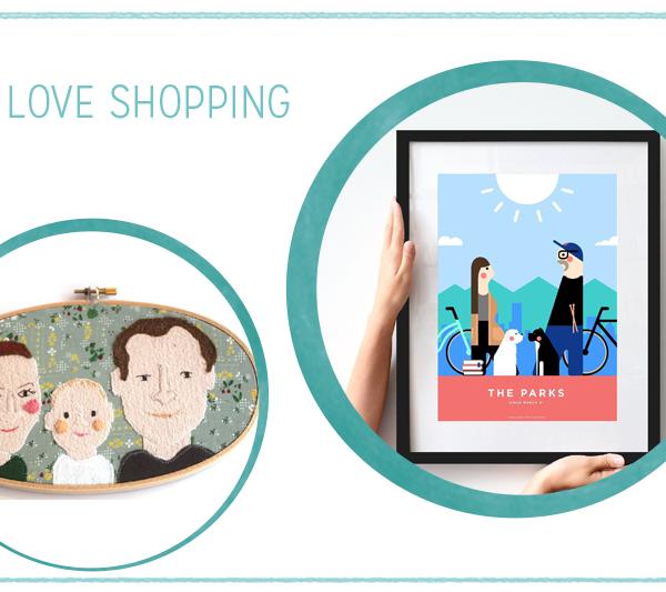 we love Shopping: Personalisierte Portraits | we love handmade