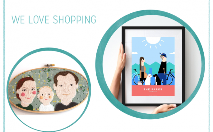 we love Shopping: Personalisierte Portraits | we love handmade