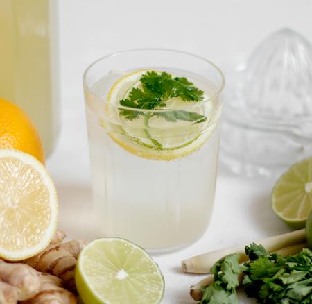 Drink: Koriander-Zitronengras-Limonade