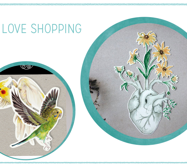 we love Shopping: Handgemachte Sticker | we love handmade