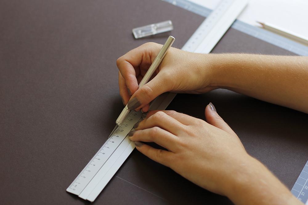 Gastgeschenk-DIY zuschneiden | we love handmade