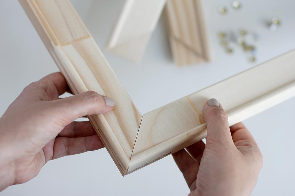 DIY: Punch Rug Stofftier Stickrahmen zusammenbauen | we love handmade