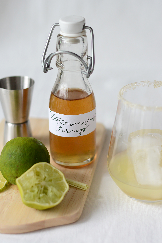 Zitronengrassirup: Rezept | we love handmade