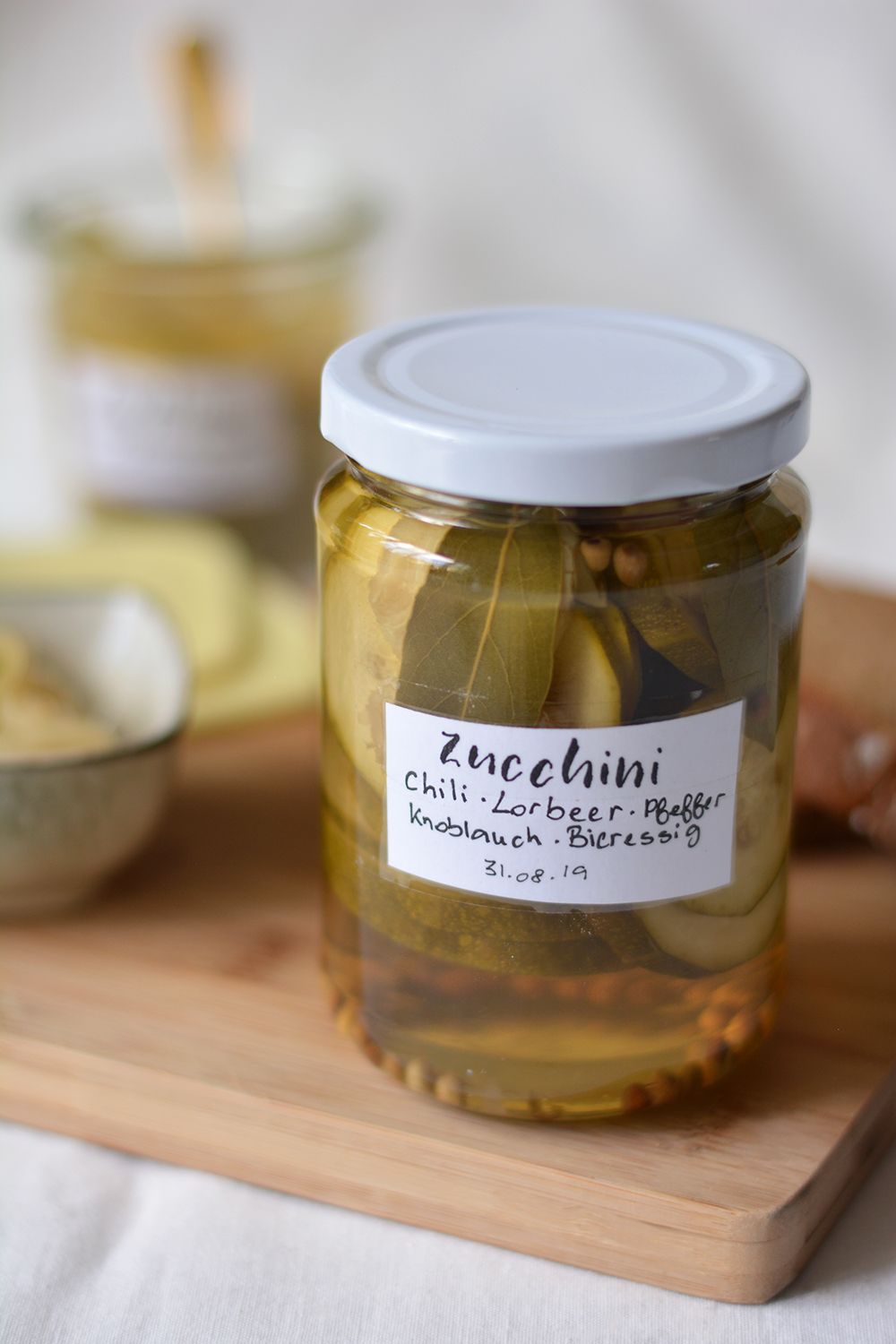 Zucchini Pickles | we love handmade