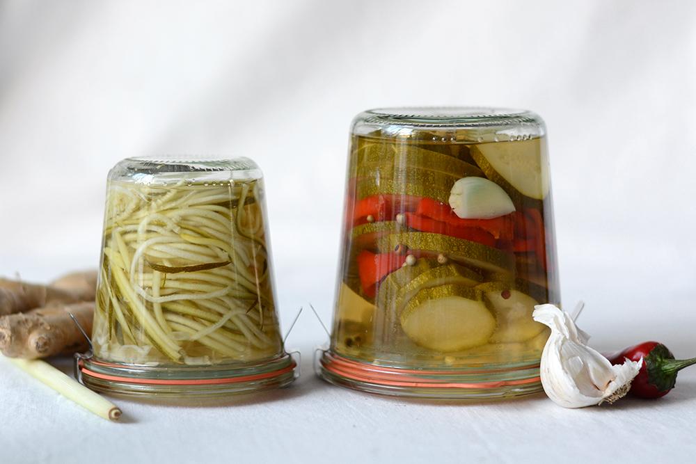 Zucchini unterschiedlich einlegen | we love handmade