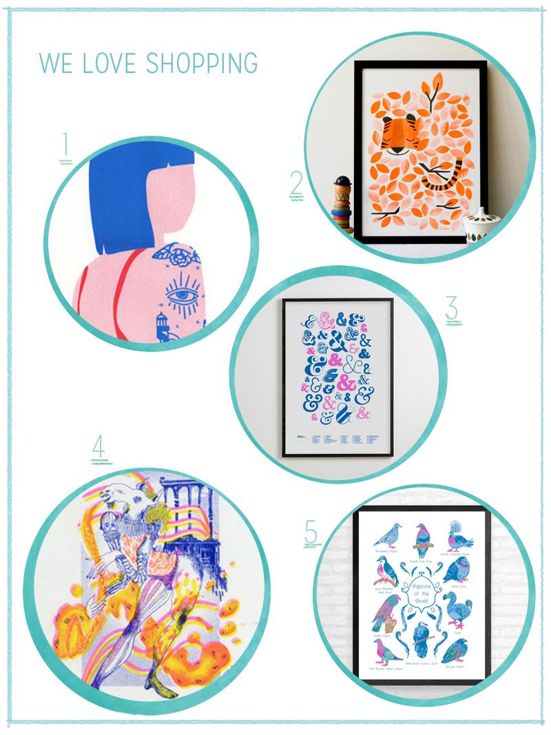 we love Shopping: Riso Prints | we love handmade