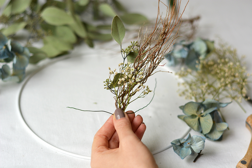 DIY: Herbstkranz binden | we love handmade