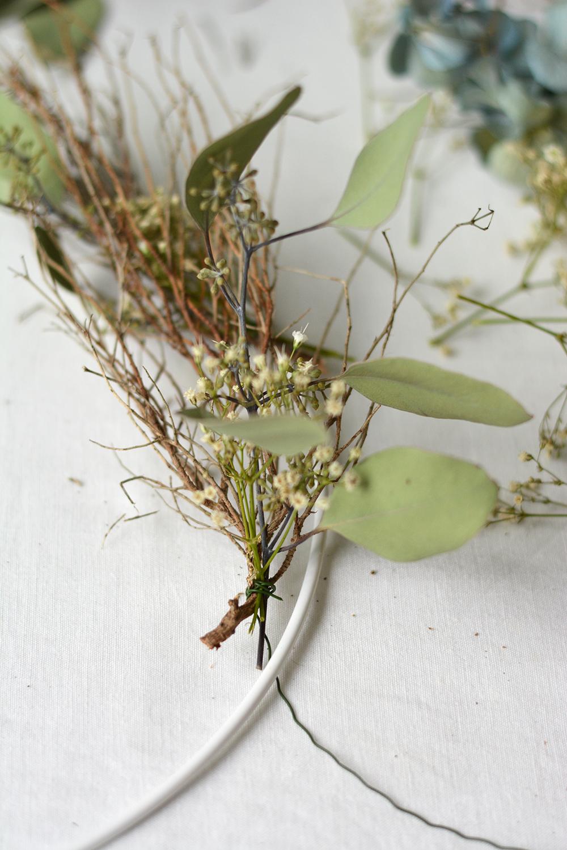 DIY: einfacher Herbstkranz | we love handmade