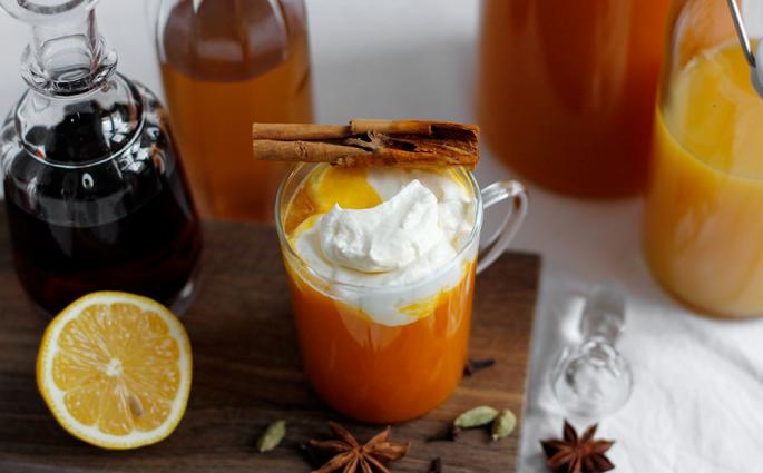 Drink: Halloween-Rezept Kürbis-Punsch | we love handmade