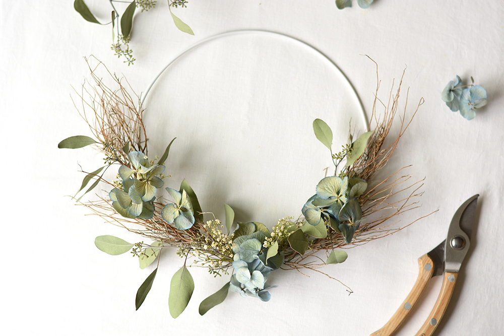 Herbstkranz DIY | we love handmade