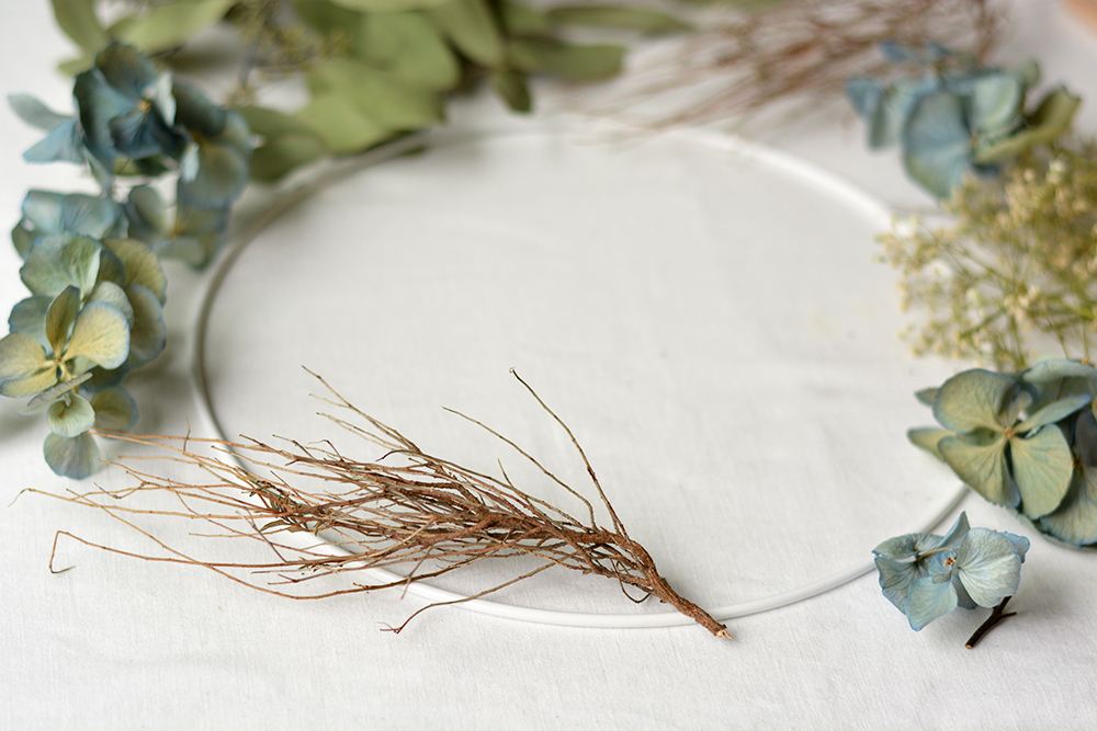 Herbstkranz binden: DIY | we love handmade