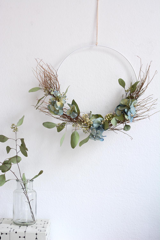 Herbstkranz selber machen | we love handmade