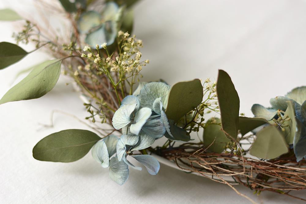 Herbstkranz selbermachen | we love handmade