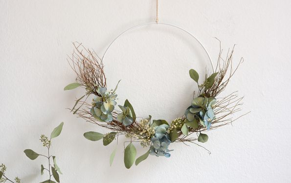 Herbstlicher Türkranz | we love handmade