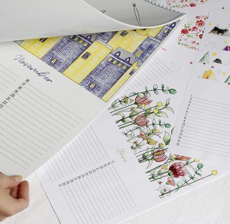 Hinter den Kulissen: So ist unser Wandkalender entstanden
