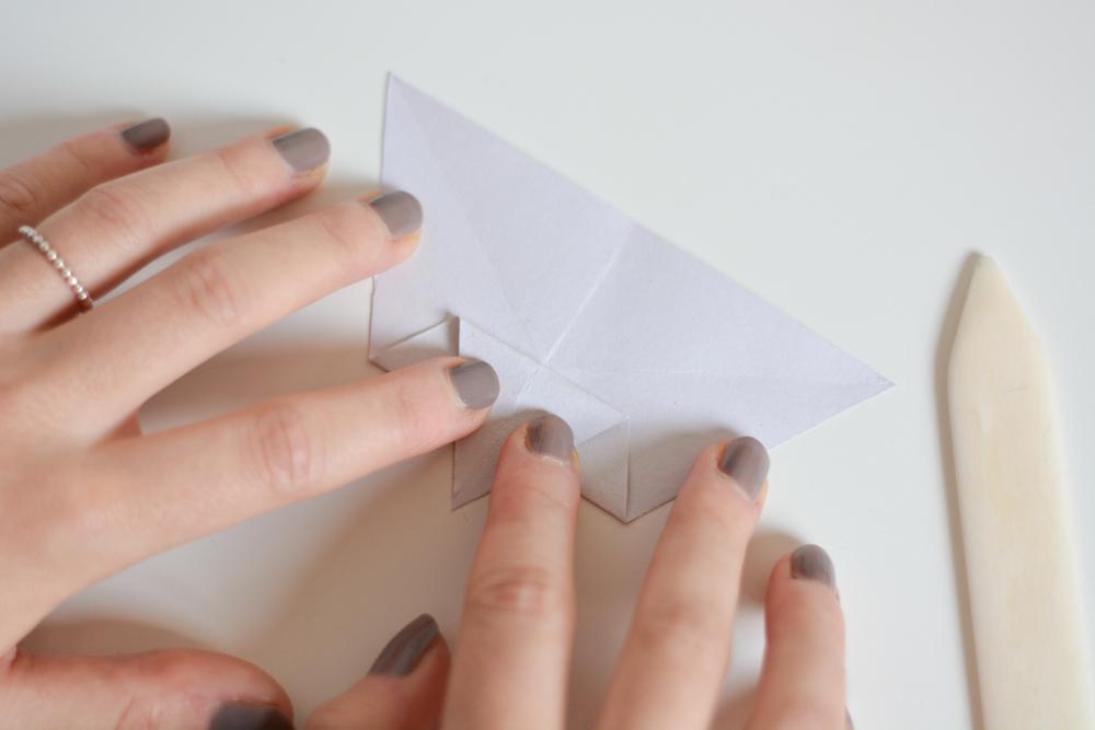 DIY: Papierstern | we love handmade