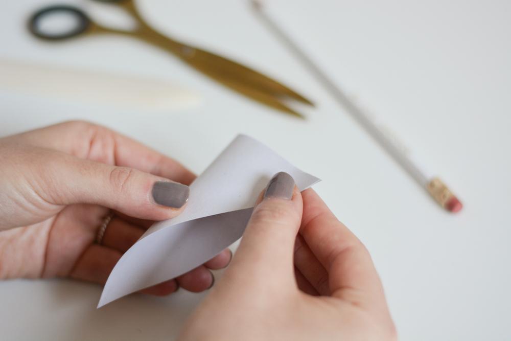 Origami-Stern falten: DIY | we love handmade