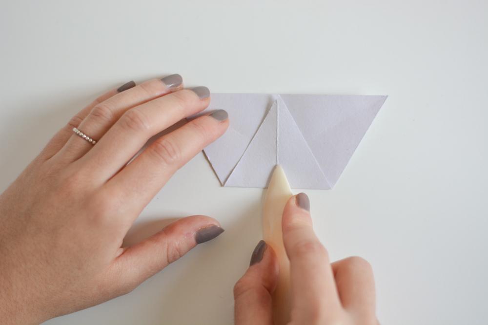 Papierstern falten | we love handmade