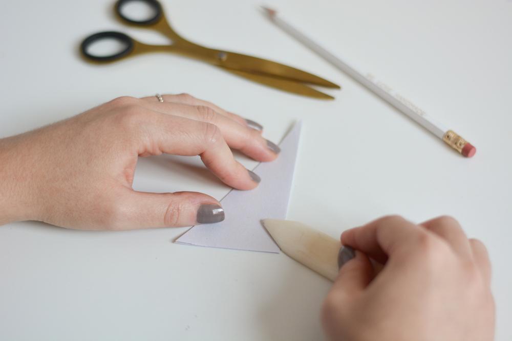 Stern falten: DIY-Geschenkidee | we love handmade