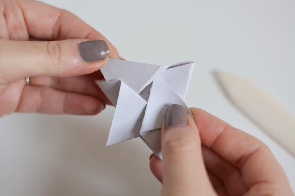Stern falten: Origami | we love handmade