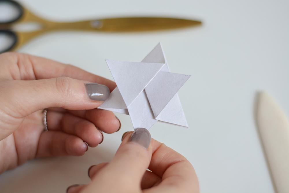 Sterne falten: DIY-Anleitung | we love handmade