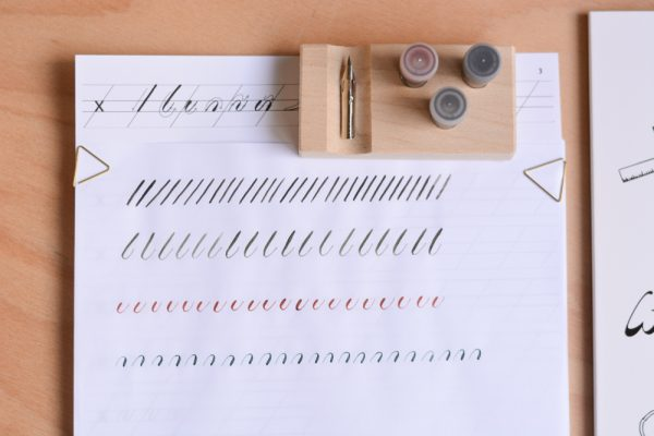 Tintenhalter-Ablage mit Dinky-Dips |we love handmade