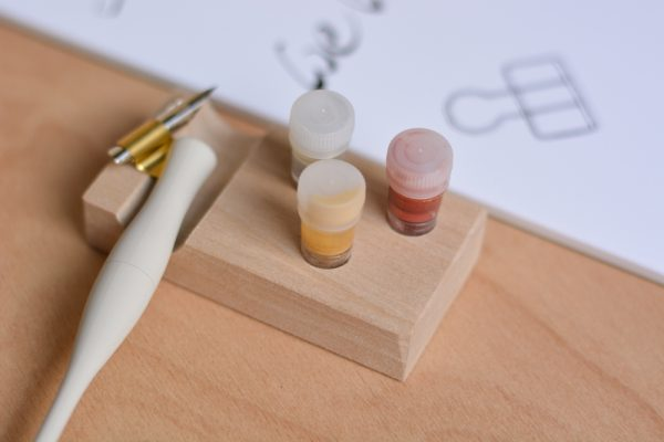 Tintenhalter plus Ablage Set | we love handmade